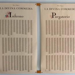 """Tutta la Divina Commedia stampata su un poster, un """"primato"""" lodigiano"""