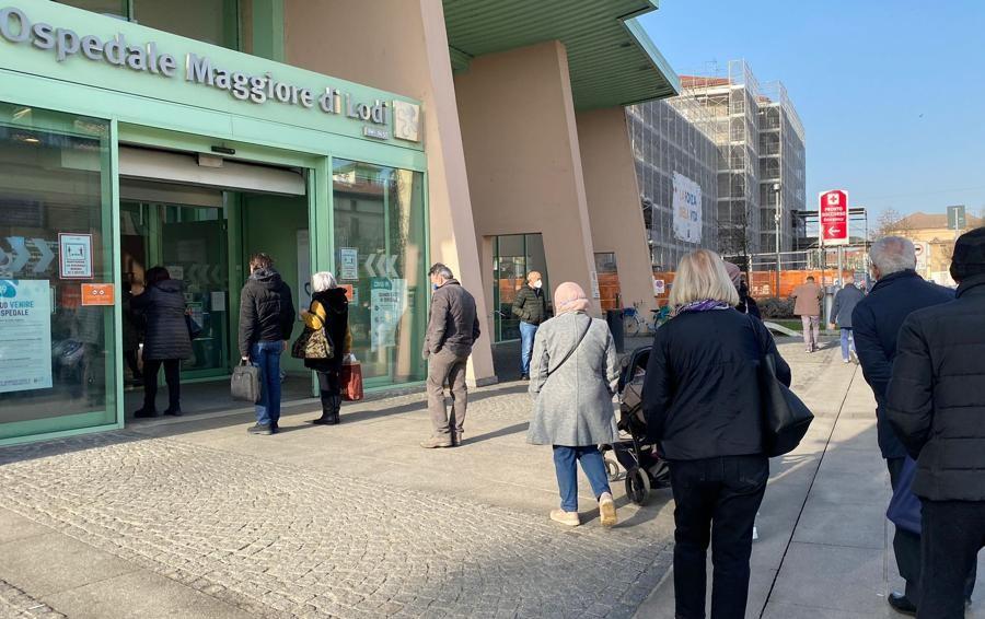 ULTIM'ORA Mascherine irregolari sequestrate negli ospedali lodigiani