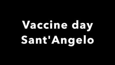 Vaccini a Sant'Angelo, primo bilancio