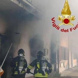 Vigili del fuoco, numerosi interventi per il vento
