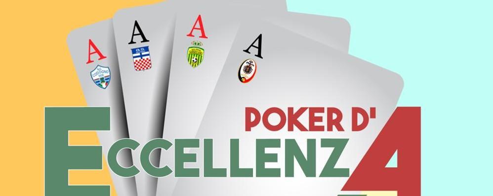 """CALCIO Prima puntata per """"Poker d'Eccellenza"""" VIDEO"""
