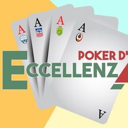 """Il """"Cittadino"""" cala il Poker d'Eccellenza"""