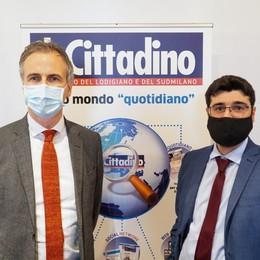 IL VIDEO - Il presidente del consiglio regionale lombardo in visita al «Cittadino»