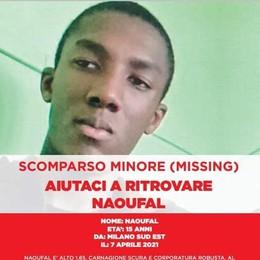 MELEGNANO Anche a «Chi l'ha visto?» l'appello per Naoufal