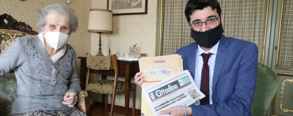 CODOGNO «Amarcord Lodigiano»: Il Cittadino consegna la collezione a una lettrice VIDEO