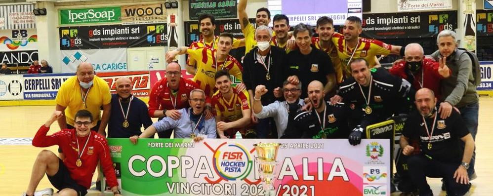 Hockey, l'Amatori vince la sua quarta Coppa Italia GUARDA I VIDEO DEL TRIONFO