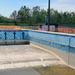 LODI I lavori non decollano: ancora tutto fermo alla piscina Ferrabini