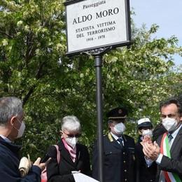 MELEGNANO Inaugurata la passeggiata sul Lambro dedicata ad Aldo Moro - VIDEO