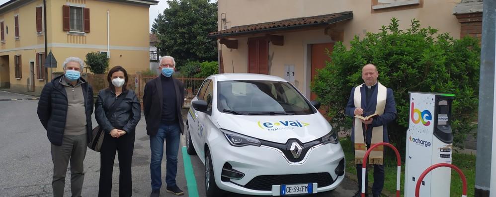 Un'auto elettrica per il Comune di Turano
