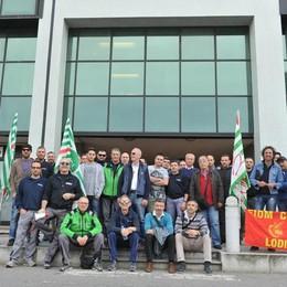 GUARDAMIGLIO Ottanta lavoratori ex Nilfisk da due anni attendono il bonus