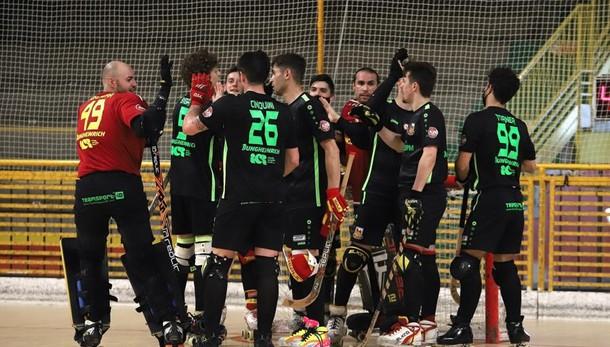 Hockey, l'Amatori a Bassano per  la semifinale che nessuno si aspettava