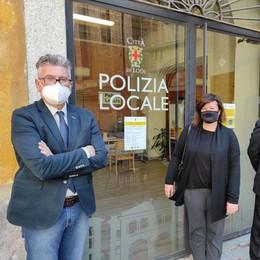 LODI Polizia locale, riapre lo sportello di piazza Broletto