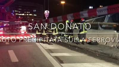 San Donato auto precipitata