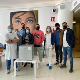"""Un aiuto al reparto dei più piccoli con la donazione dagli """"Angeli"""""""