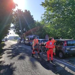 CASALE Maxi tamponamento sulla Mantovana, soccorse tre persone