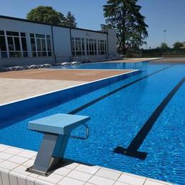 SANT'ANGELO L'acqua è troppo fredda, sabato la piscina non apre