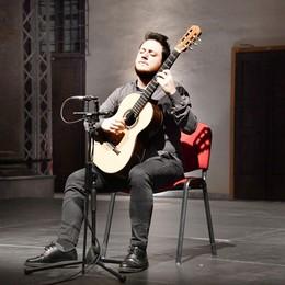 Applausi per il concerto di chitarra classica