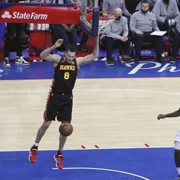 Basket Nba, il Gallo e Atlanta rimettono in pari la finale a Est