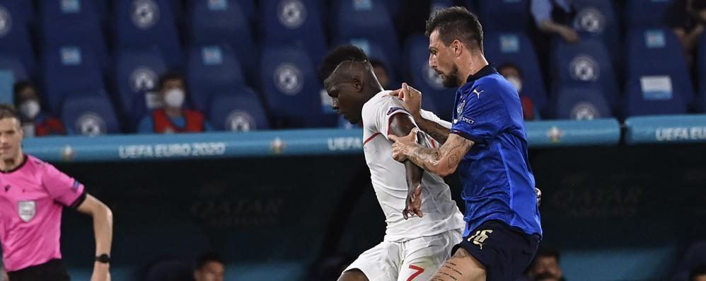 Calcio, esordio Europeo per Acerbi nell'Italia che vola agli ottavi