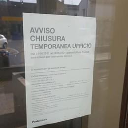 Casale, l'ufficio postale chiuso fino al 24 giugno