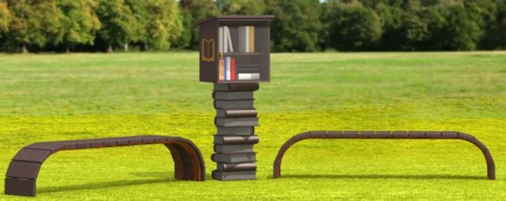 CASALE Un parco ed eco-salotti per leggere all'aria aperta