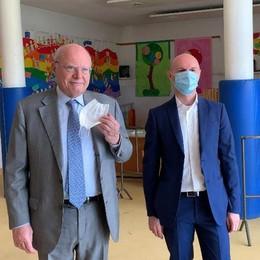 Castiglione, fase due dello screening Covid con il professor Galli