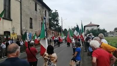 Eccidio di Villa Pompeiana, la cerimonia a Marzano