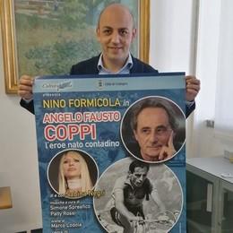 Il mito di Coppi rivive a Codogno nello spettacolo di Sabina Negri