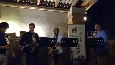 Il Vagues Saxophone Quartet al Mulino di Prada
