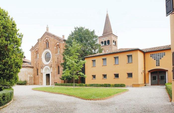 Uno scorcio dell'abbazia