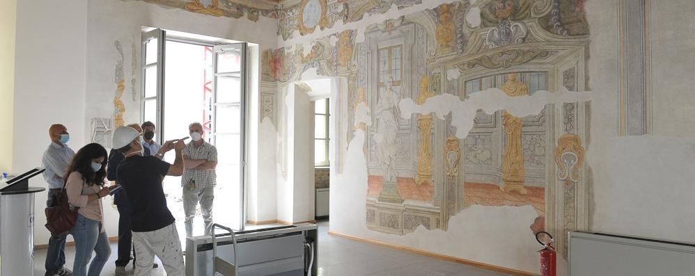 L'antico palazzo Sommariva di Lodi svela i suoi segreti