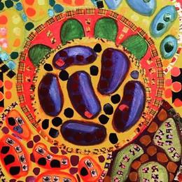 """L'energia dei colori dell'Acav: una """"piazza dell'arte"""" al Soave"""
