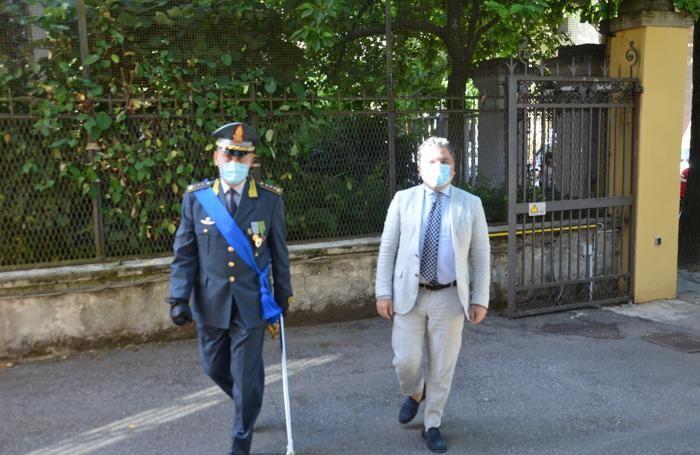 L'arrivo del Prefetto Montella