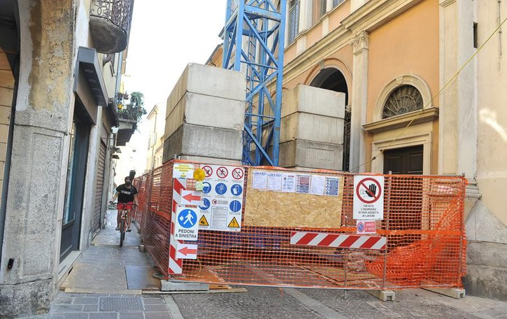 Lodi: Incoronata, verso la conclusione la prima fase di restauri