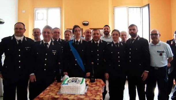 Lodi, la polizia penitenziaria festeggia il patrono San Basilide