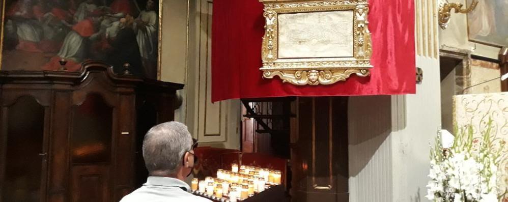 MELEGNANO Esposta la Bolla per la festa di San Giovanni