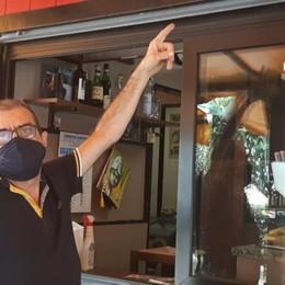 MELEGNANO Ladri in azione al bar Incontro - Guarda le foto
