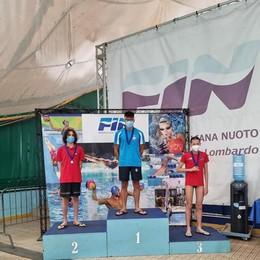 Nuoto, poker di medaglie con tris di ori per Cerioli