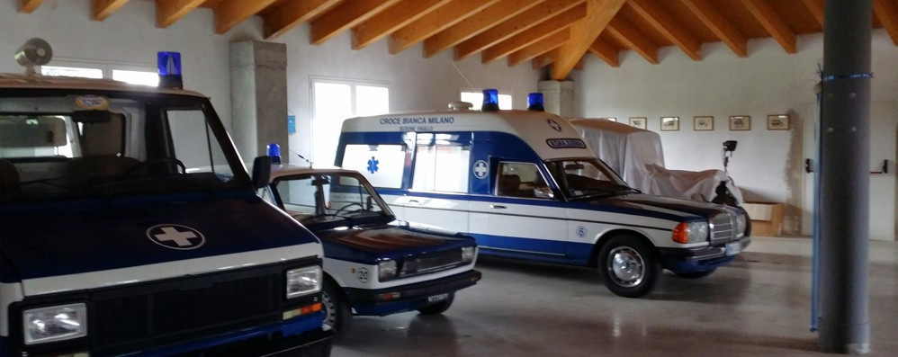 PAULLO Ha riaperto il museo dei mezzi storici della Croce Bianca