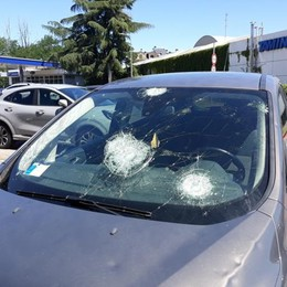 Pesanti i danni della violenta grandinata sul Sudmilano
