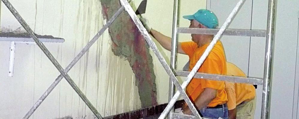 San Donato, cantieri della scuola a rilento,  «ma le aule a settembre saranno pronte»