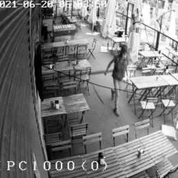 SAN DONATO Da solo tenta il furto nel locale, suona l'allarme e fugge