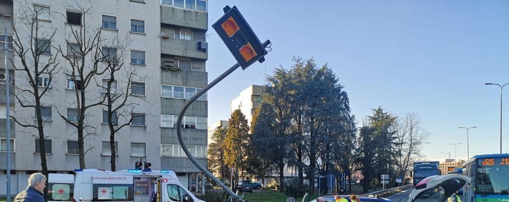 SAN DONATO In arrivo i T-red ai semafori, il primo è quello di via Moro