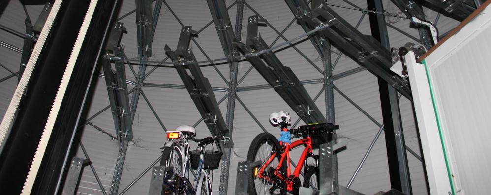 SAN DONATO Silos per le bici poco usati, si pensa a un rilancio