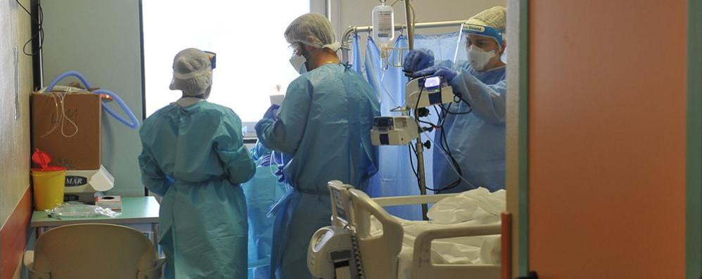 Torna un paziente positivo in terapia intensiva a Lodi