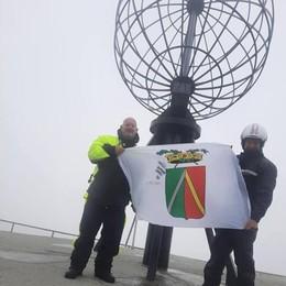 Tresoldi è arrivato a Capo Nord dopo 4.800 chilometri con la Vespa