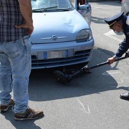 Un 15enne in monopattino travolto da un'auto a Paullo