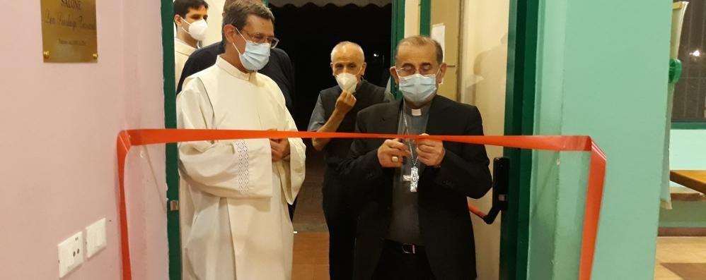 VIZZOLO Il ricordo di don Pier Torriani con l'arcivescovo di Milano