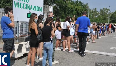 Code al punto vaccini di Lodi. Le altre notizie del giorno www.ilcittadino.it