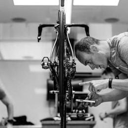 Diego Costa di Codogno è il meccanico  dell'oro olimpico Filippo Ganna